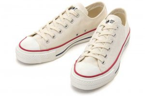 CONVERSE CANVAS ALL STAR J OX - NATURAL