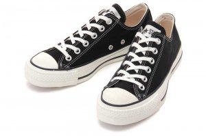 CONVERSE CANVAS ALL STAR J OX - BLACK
