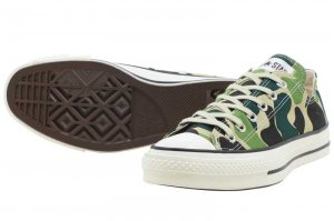 CONVERSE CANVAS ALL STAR J 83CAMO OX - CAMO
