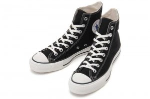 CONVERSE CANVAS ALL STAR J HI - BLACK