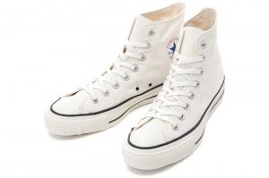 CONVERSE CANVAS ALL STAR J HI - WHITE