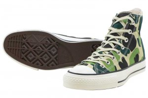CONVERSE CANVAS ALL STAR J 83CAMO HI - CAMO