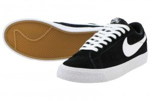 NIKE SB BLAZER ZOOM LOW - BLACK