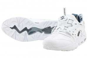 PUMA DISC BLAZE LEATHER BY GR - PUMA WHITE