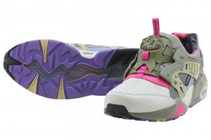 PUMA DISC BLAZE LEATHER BY GR - GREY VIOLET