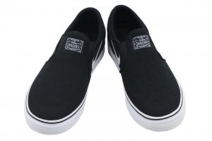 NIKE SB STEFAN JANOSKI CANVAS SLIP PS - BLACK/WHITE