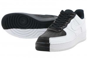 NIKE AIR FORCE 1 07 PRM - BLACK/WHITE