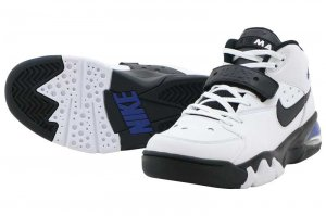 NIKE AIR FORCE MAX - WHITE/BLACK-COBALT