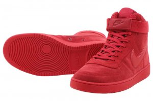 NIKE VANDAL HIGH SUPREME LTR - UNIVERSITY RED