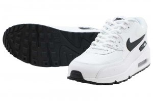 NIKE WMNS AIR MAX 90 - WHITE/BLACK