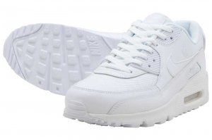 NIKE AIR MAX 90 ESSENTIAL - WHITE/WHITE-WHITE-WHITE