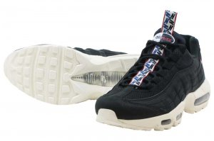 NIKE AIR MAX 95 TT - BLACK/SAIL-GYM RED