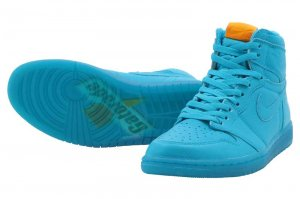 NIKE AIR JORDAN 1 RETRO HIGH OG G8RD - BLUE LAGOON