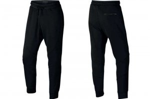 NIKE JORDAN SPORTS WEAR FLIGHT TECH PANTS - BLACK