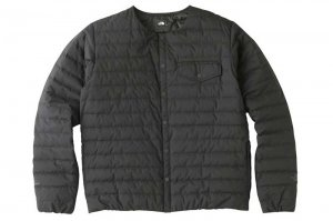 THE NORTH FACE WS Zepher Shell Cardigan - BLACK
