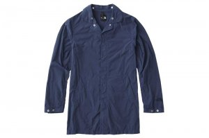 THE NORTH FACE JOURNEYS TECH INDIGO COAT