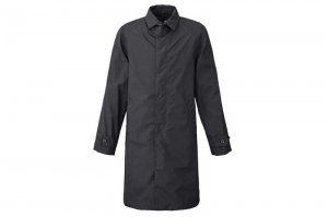 THE NORTH FACE ALPHADRY HYVENT COAT - BLACK