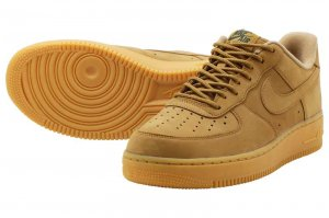 NIKE AIR FORCE 1 07 WB - FLAX