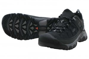 KEEN Targhee EXP WP - Black/Steel Grey