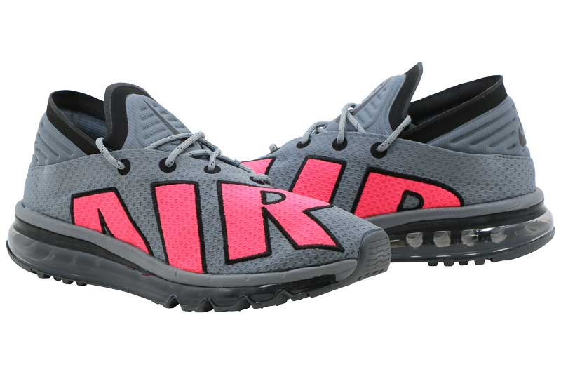 purchase cheap 0663c 5ef2b NIKE AIR MAX FLAIR - COOL GREY SOLAR RED-PURE PLATINUM 942236-004