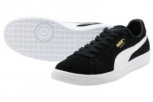 PUMA SUEDE IGNITE - Puma Black-Puma White