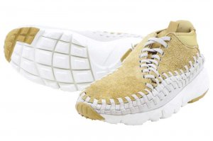 NIKE AIR FOOTSCAPE WOVEN CHUKKA QS - FLT GOLD