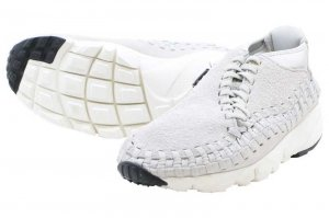 NIKE AIR FOOTSCAPE WOVEN CHUKKA QS - LIGHT BONE