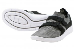 NIKE AIR SOCK RACER FLYKNIT - BLACK/PALE GREY-BLACK-WHITE