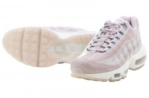 NIKE WMNS AIR MAX 95 LX - PARTICLE ROSE/PARTICLE ROSE-VAST GREY
