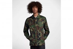 NIKE SB ERDL ICON COACH'S JACKET - CAMO
