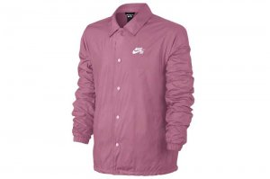 NIKE SB SHIELD COACH JACKET - ELEMENTAL PINK