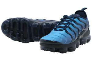 NIKE AIR VAPORMAX PLUS - Obsidian/Obsidian-Photo Blue-Black