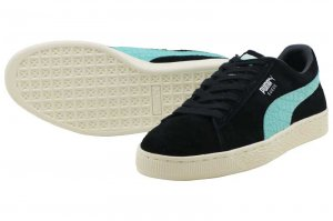 PUMA SUEDE DIAMOND - PUMA BLACK-DIAMOND BLUE