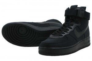 NIKE AIR FORCE 1 HIGH '07 CANVAS - BLACK/BLACK-ANTHRACITE