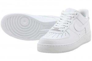 NIKE AIR FORCE 1 LOW - WHITE/WHITE
