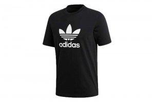 adidas  TREFOIL TEE アディダス トレフォイル Tシャツ BLACK CW0709