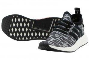 adidas  NMD R2 PK - Core Black/Core Black/White