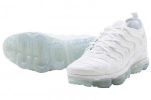 NIKE AIR VAPORMAX PLUS - WHITE/WHITE-PURE PLATINUM