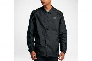 NIKE SB SHIELD COACH JACKET - BLACK/COOL GRAY