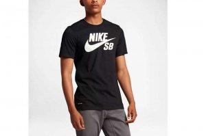 NIKE SB DRI-FIT LOGO T-SH ナイキ SB ドライフィット ロゴ Tシャツ BLACK/BLACK-WHITE 821947-013