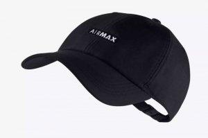 NIKE H86 AIR MAX CAP - BLACK/WHITE
