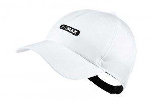 NIKE H86 AIR MAX CAP - WHITE/BLACK