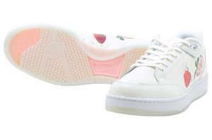 NIKE GRANDSTAND II PNCL - SAIL/SAIL-WHITE-STORM PINK