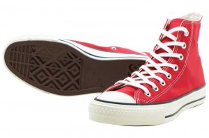 CONVERSE CANVAS ALL STAR J HI - RED