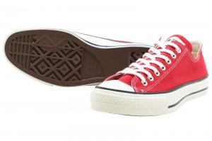 CONVERSE CANVAS ALL STAR J OX - RED