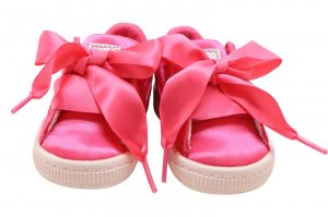 PUMA BASKET HEART TWEEN INFANT - PARADISE PINK