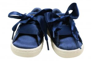PUMA BASKET HEART TWEEN INFANT - SARGASSO SEA