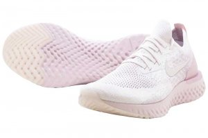 NIKE EPIC REACT FLYKNIT - PEARL PINK/BARELY ROSE-ARCTIC PINK