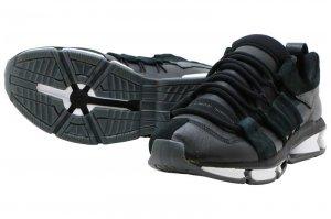 adidas  TWINSTRIKE ADV STRETCH LEA - CORE BLACK/RUNNING WHITE/CORE BLACK