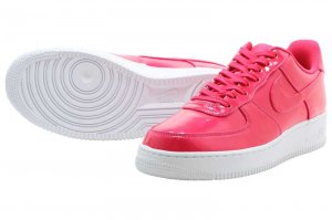 NIKE AIR FORCE 1 07 LV8 UV - GYM RED/GYM RED-BLACK